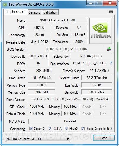 无外接供电也能超:铭鑫GT640 G频版评测