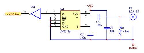 声卡线性输入电路图