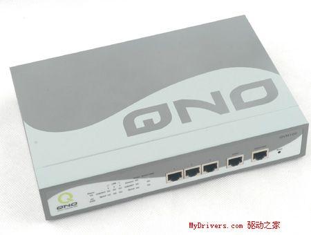 双倍选择 侠诺QVM100双WAN路由器